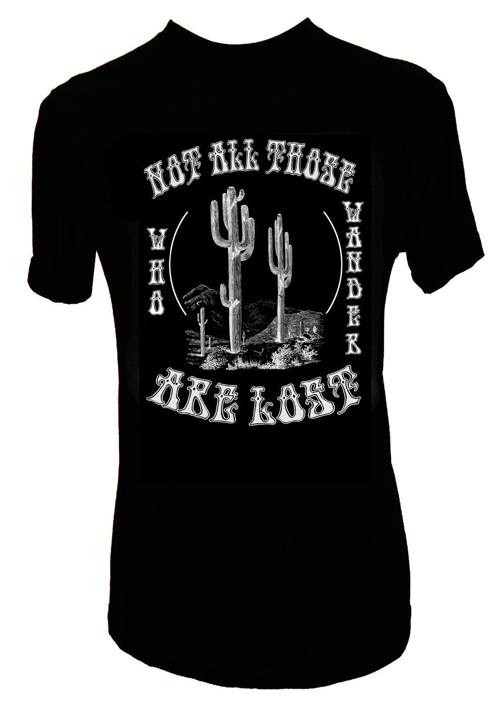 NOT ALL THOSE WHO WANDER ARE LOST TEE - Trailsclothing.com