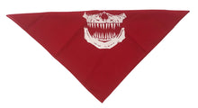 SKULL POINTY TEETH BANDANA - Trailsclothing.com