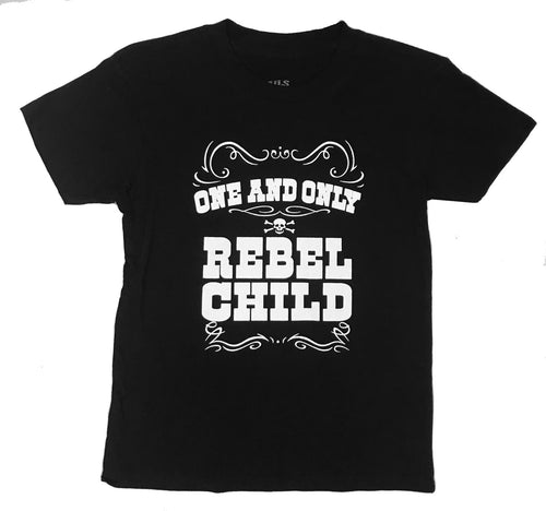 ONE AND ONLY REBEL CHILD TEE - Trailsclothing.com