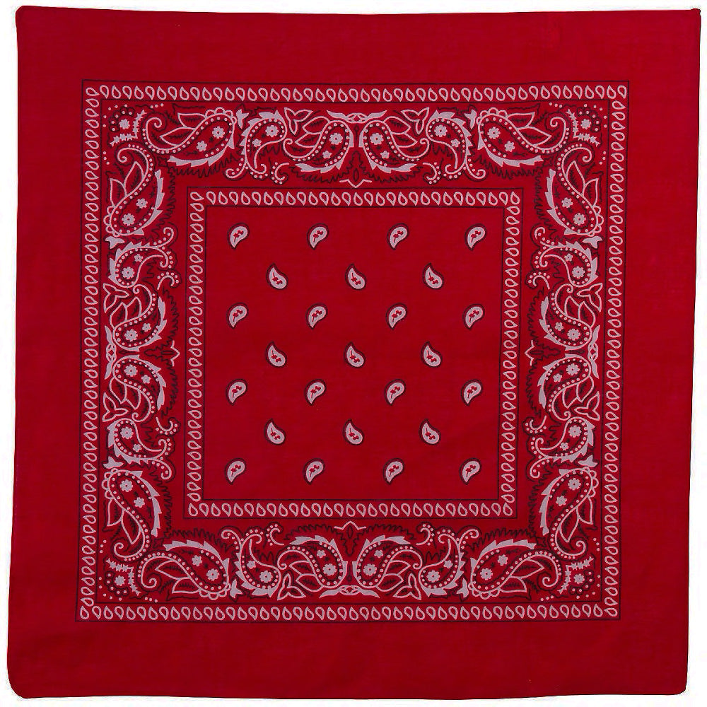 RED BANDANA - Trailsclothing.com