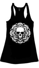 SKULL MANDALA TANK TOP - Trailsclothing.com