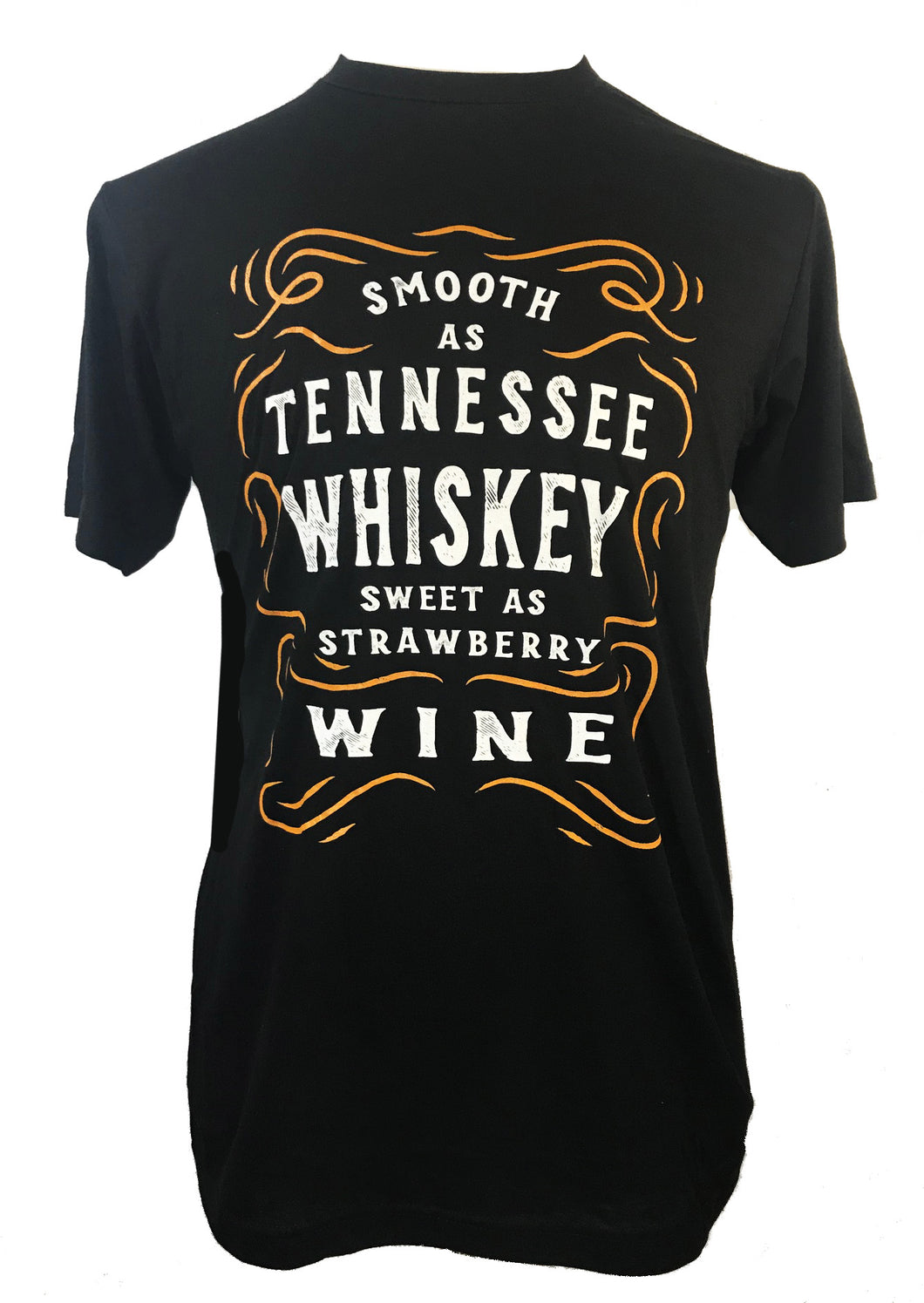 SMOOTH AS TENNESSEE WHISKEY MENS T SHIRT