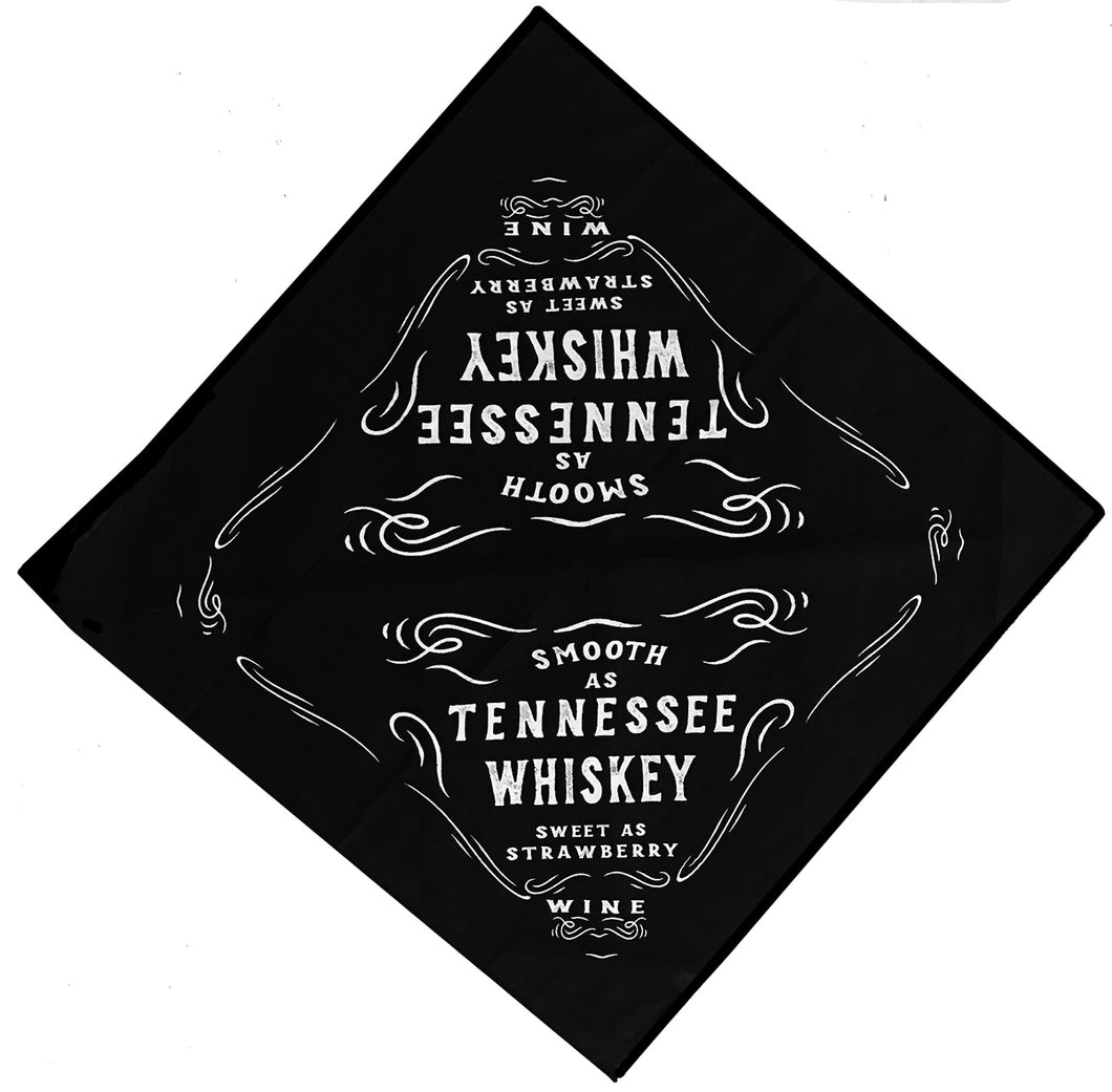 SMOOTH AS TENNESSEE WHISKEY BANDANA - Trailsclothing.com
