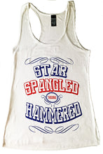 STAR SPANGLED HAMMERED TANK TOP