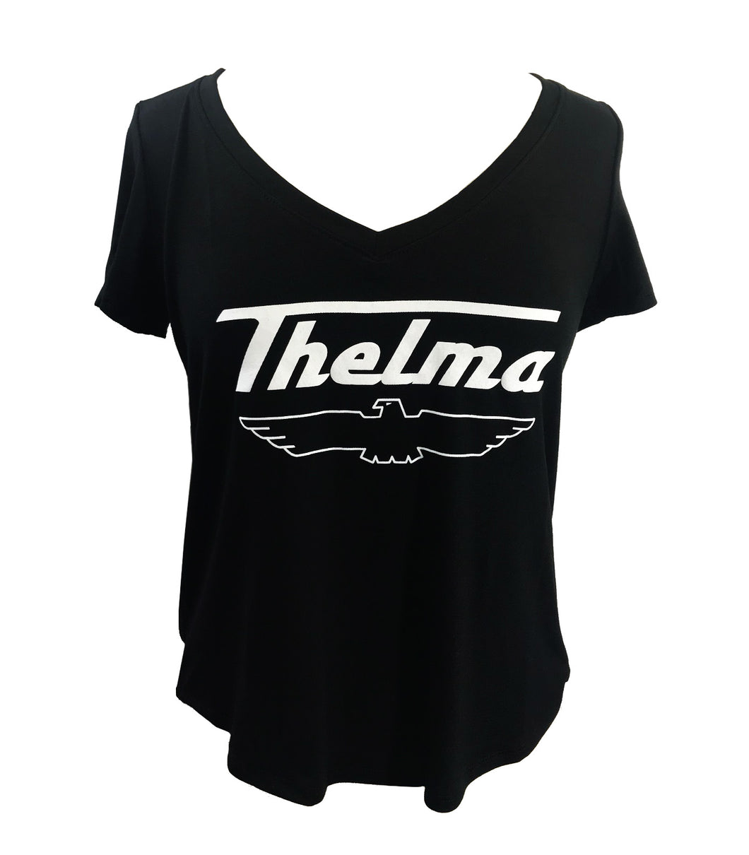 THELMA AND LOUISE SHORT SLEEVE V NECK THELMA - Trailsclothing.com