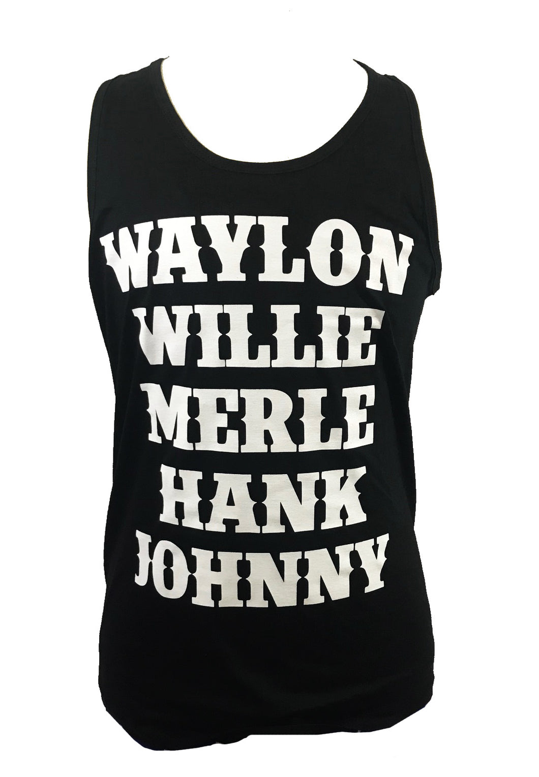 WAYLON WILLIE MERLE HANK JOHNNY MEN'S TANK - Trailsclothing.com