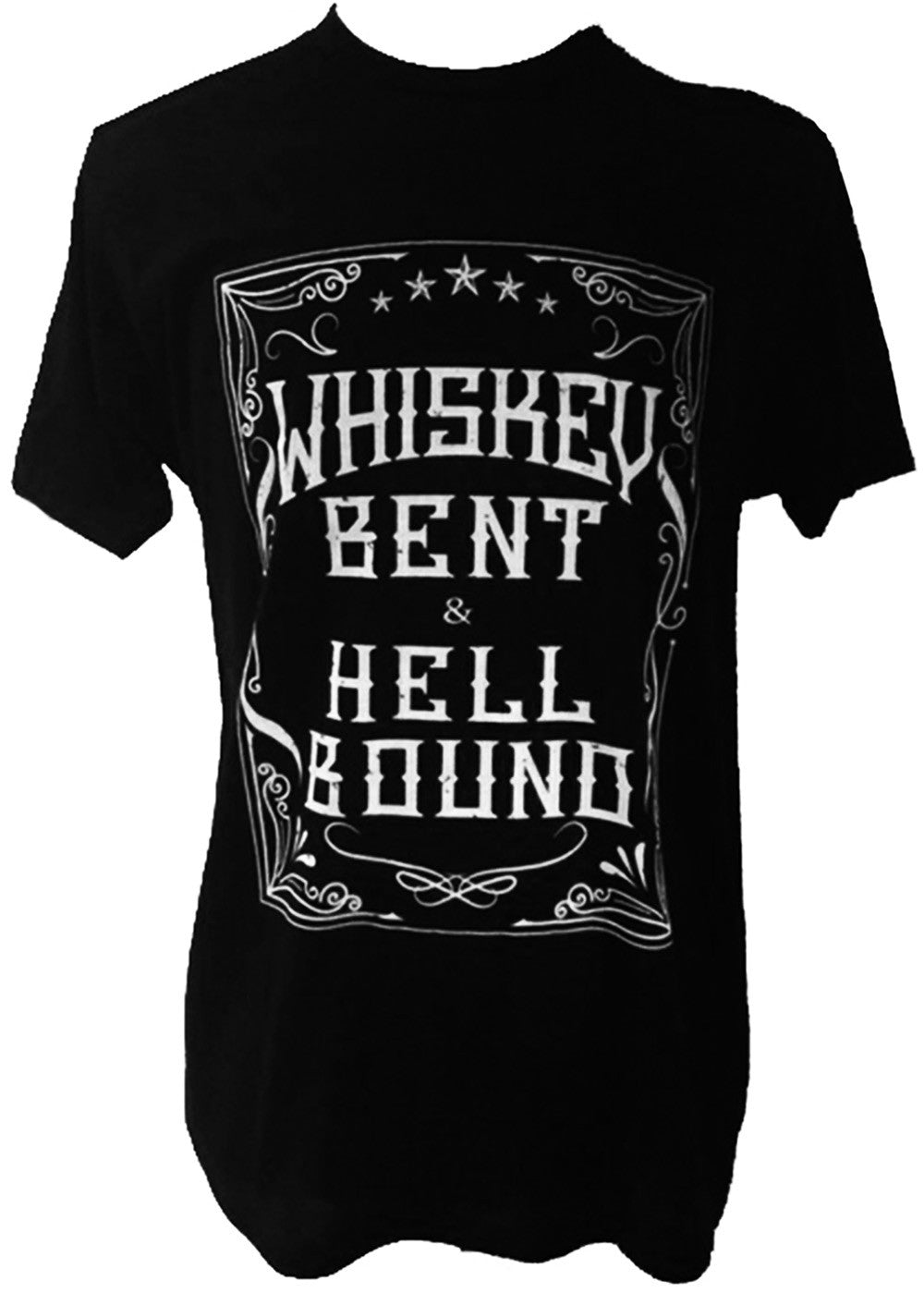 WHISKEY BENT AND HELL BOUND TEE