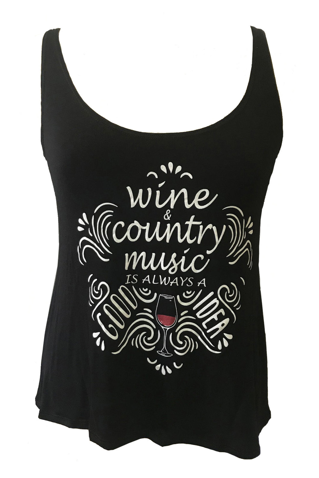 WINE AND COUNTRY MUSIC ALWAY A GOOD IDEA