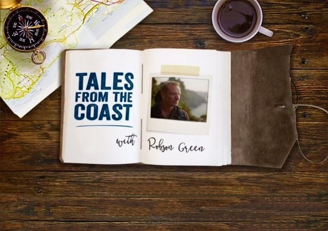 Earthworks Journals on ITV's Tales From The Coast with Robson Green