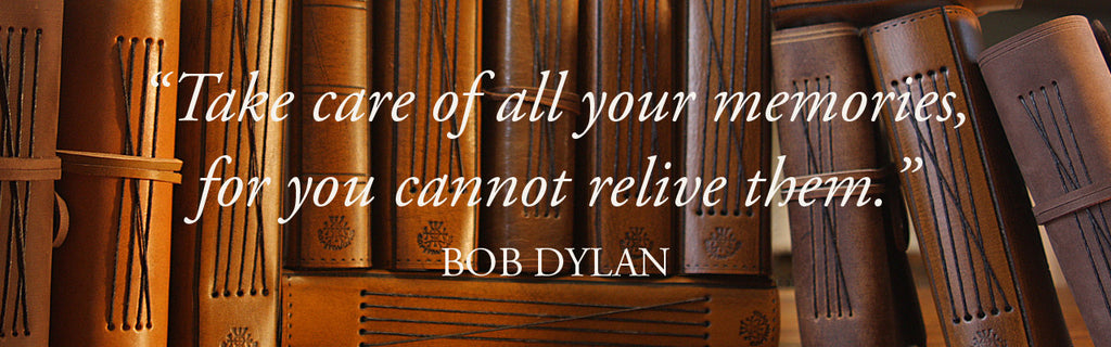 Bob Dylan Quote - A collection of Earthworks Journals