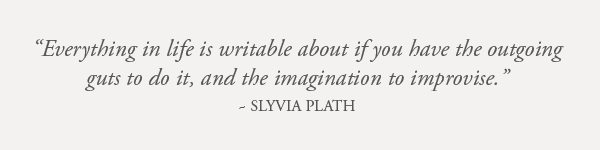 Sylvia Plath Quote Earthworks Journals