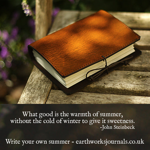 Write your own summer 3 - Earthworks Journals