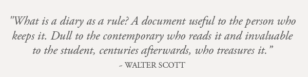 Walter Scott Quote Earthworks Journals