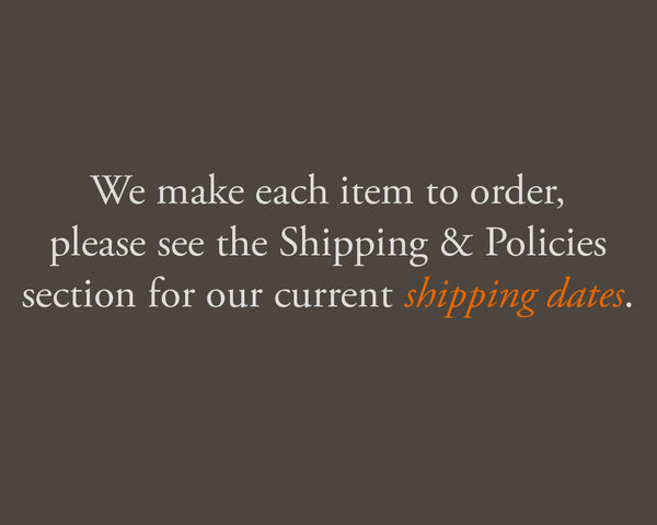 shipping information - earthworks journals