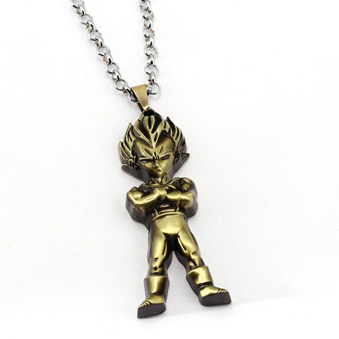 Dragon Ball Vegeta Necklace