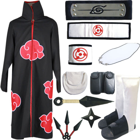 Full Akatsuki Costume