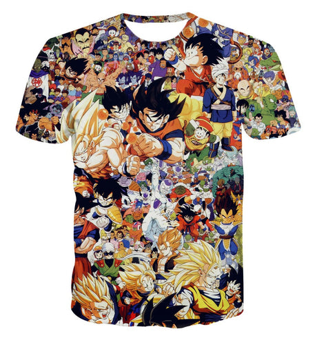 Dragon Ball Z - Characters T-shirt