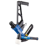 "2-in-1 15.5 Gauge and 16 Gauge 2"" Flooring Nailer and Stapler with Canvas Bag"