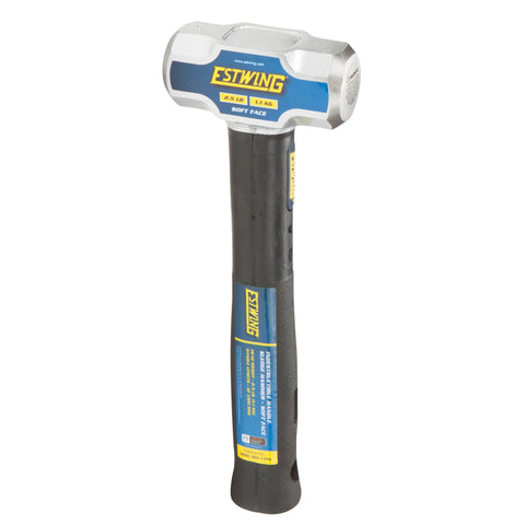 2.5-Pound Soft Face Sledge Hammer, 12-Inch Indestructible Handle