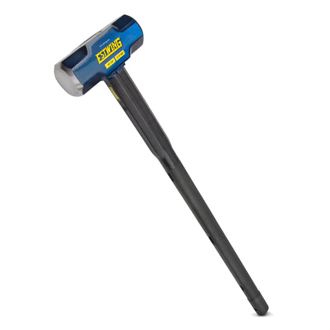 12-Pound Hard Face Sledge Hammer,  36-Inch Indestructible Handle
