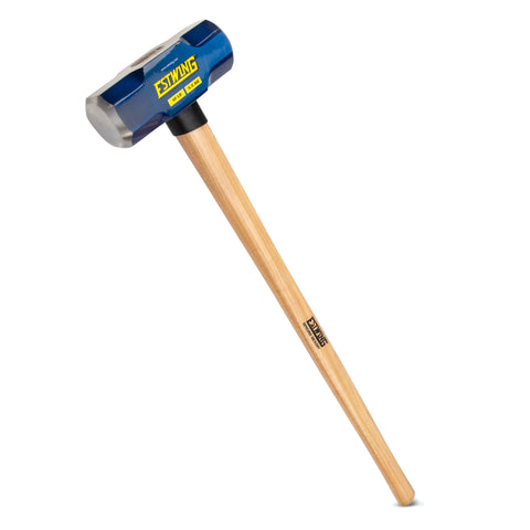 12-Pound Hard Face Sledge Hammer,  36-Inch Hickory Handle