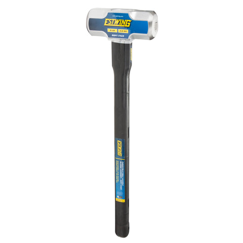 8-Pound Soft Face Sledge Hammer, 24-Inch Indestructible Handle