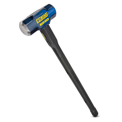 10-Pound Hard Face Sledge Hammer,  30-Inch Indestructible Handle