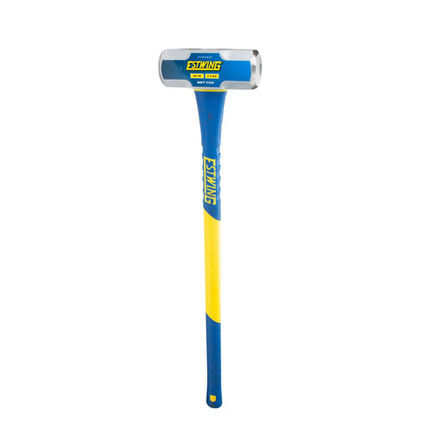 10-Pound Soft Face Sledge Hammer, 36-Inch Fiberglass Handle