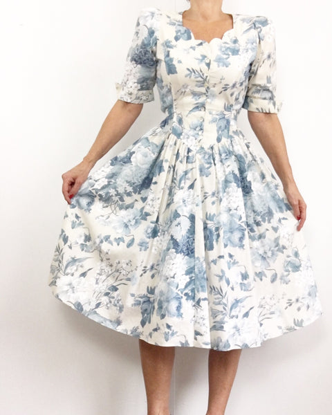 Vintage Meet Me In The Alps Dress