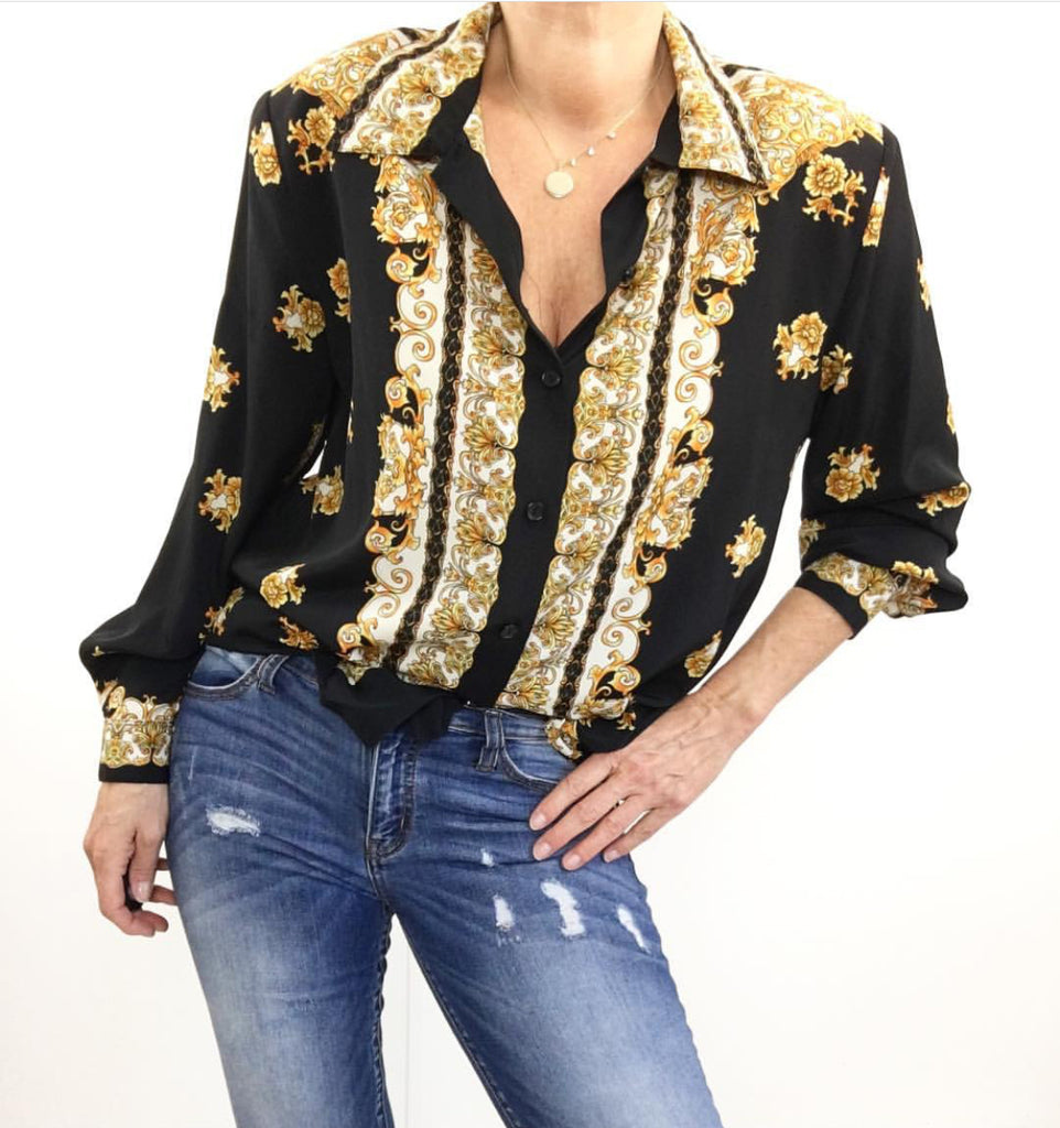 After Dark Blouse
