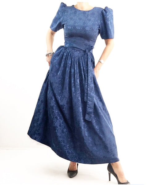 Vintage Handmade Amish Special Occasions Country Dress