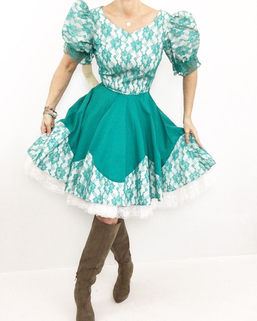 Green Mountain Dance Dress