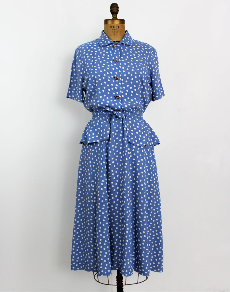 Vintage 1950's Betty Barclay Dress