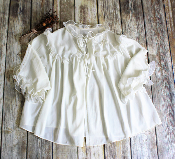 Vintage Sweet Little Bed Jacket