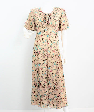 Vintage Country Kristy Michael Floral Dress