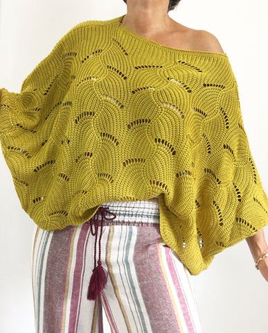 Fly With Me Crochet Sweater