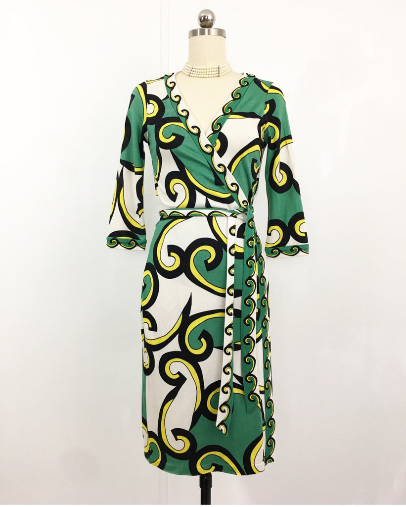 Greek Amour Dress - Diane Von Fuerstenberg