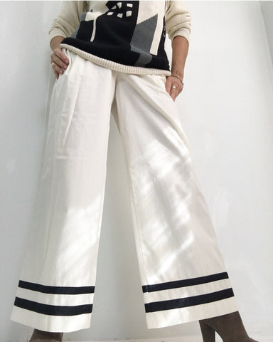 Vintage ESCADA Wide Leg Sailor Pants