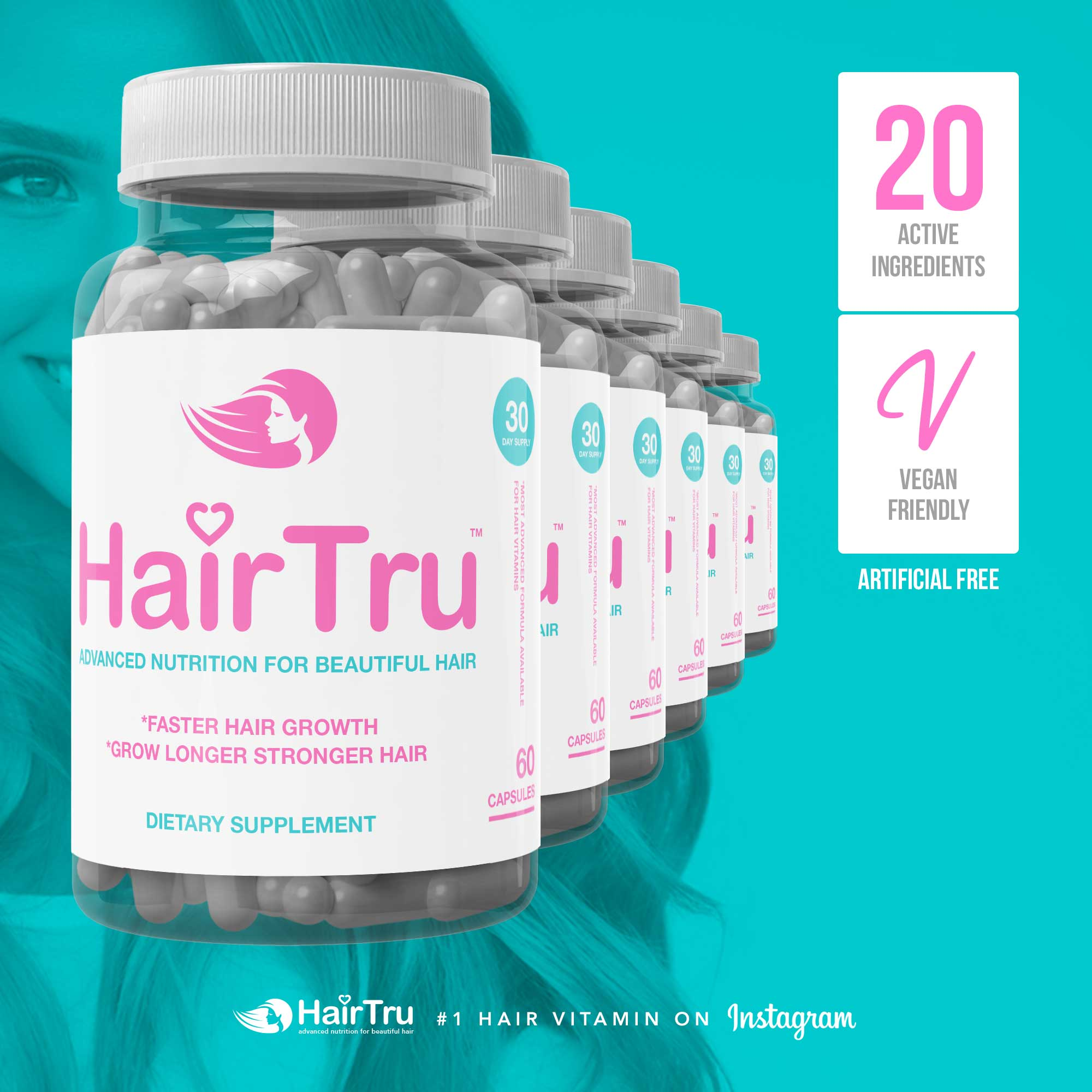6 Month HairTru Supply