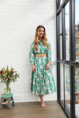 AUDREY MAXI DRESS IN GREEN