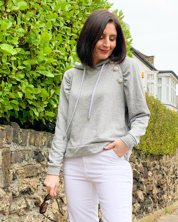 BATISTE SWEATSHIRT IN GREY