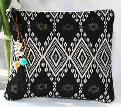 BAHIA CLUTCH IN BLACK
