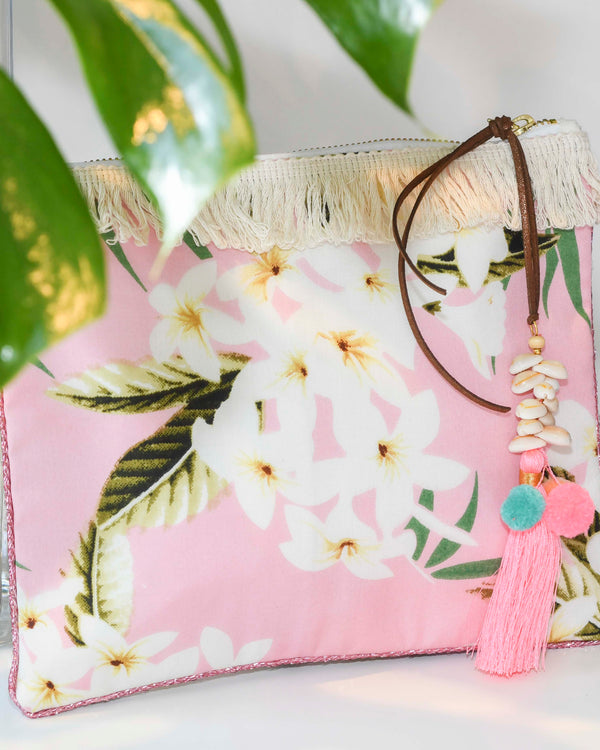 HYDRA CLUTCH IN PINK