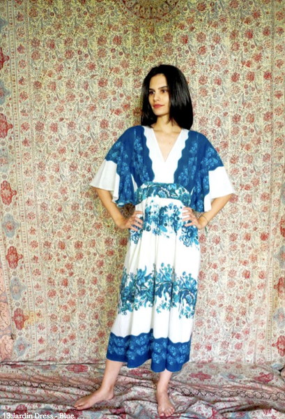 JARDIN DRESS IN BLUE