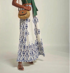 ANATOLIA MAXI SKIRT IN BLUE