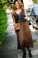 LOLA CLUTCH IN CAMEL