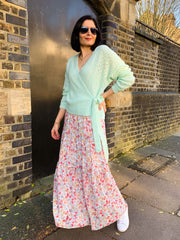 MIA MAXI  SKIRT IN FLORAL