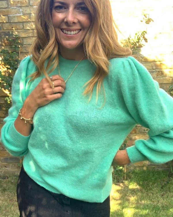 ELOISE JUMPER IN JADE