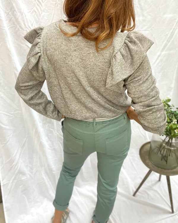 EFFIE TROUSERS IN SAGE