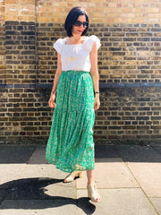 CHLOE SKIRT IN GREEN